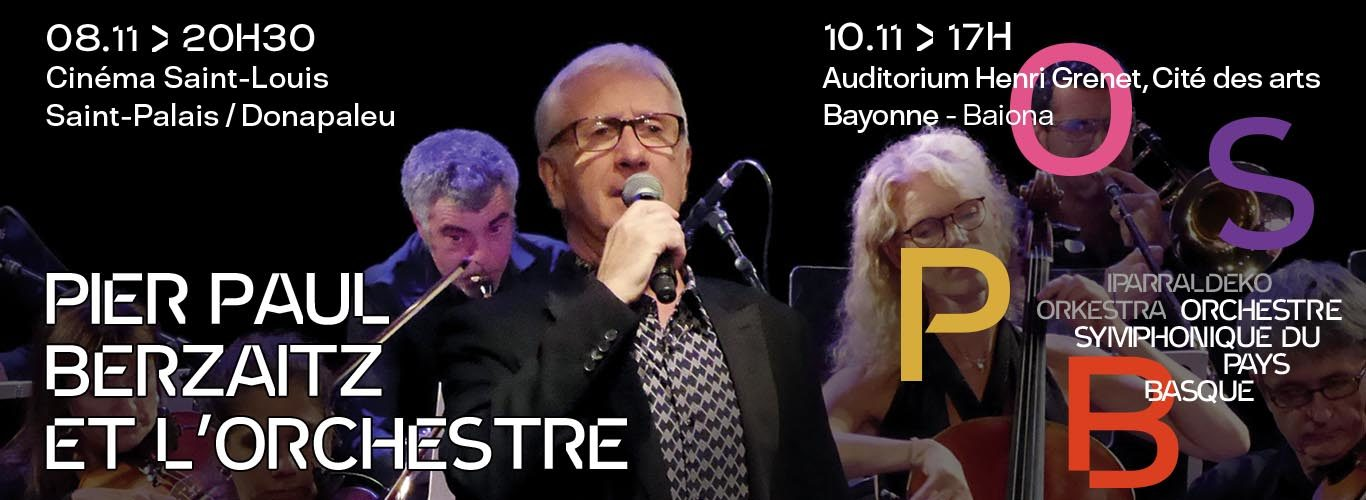 Pier Paul Berzaitz et L'Orchestre