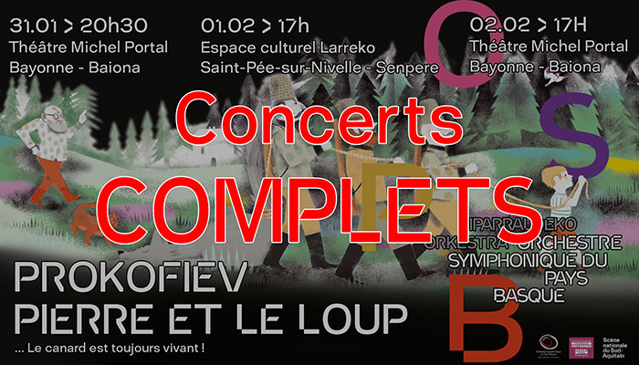 Concerts complets