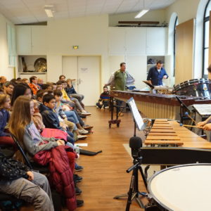 Rassemblement percussions