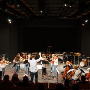 Concert des orchestres